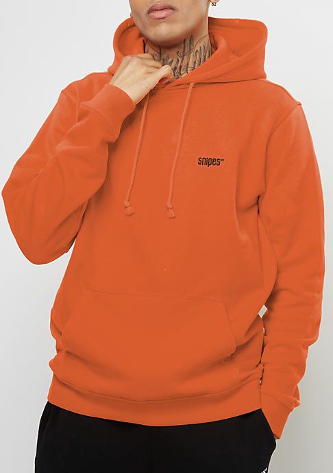 SNIPES Hooded-Sweatshirt Chest Logo orange popsicle