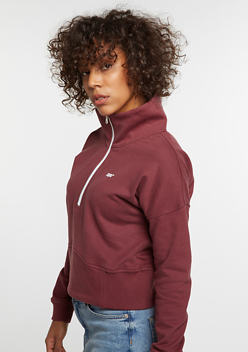 SNIPES Sweatshirt Track Top bordeaux