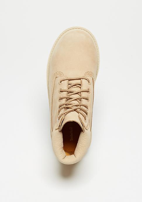 Timberland Kids 6-Inch Premium WP Boot light beige nubuck