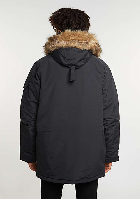 Carhartt WIP Jacke Anchorage Parka black/black