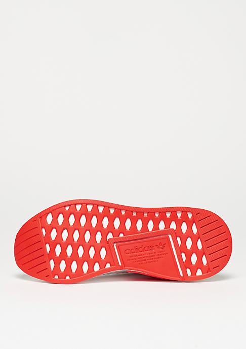 adidas Laufschuh NMD R2 PK white/white/core red
