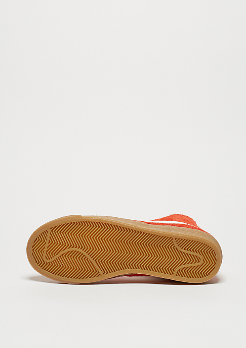 NIKE Wmns Blazer Mid Suede Vintage max orange/ivory/gum light brown