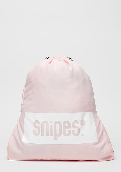 SNIPES Box Logo rose/white