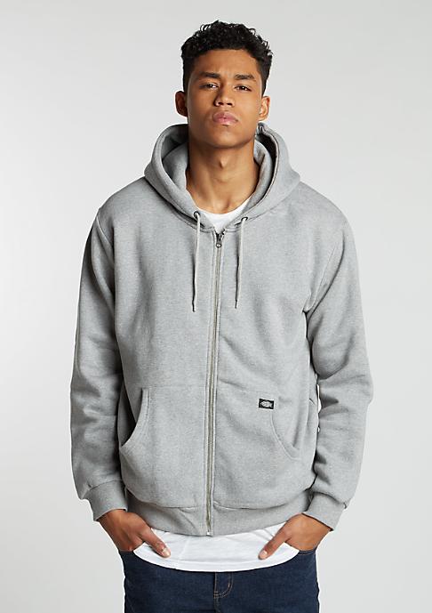 Dickies Hooded-Zipper Kingsley grey melange