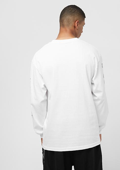 Emerica Toy Machine Long Sleeve Pocket white