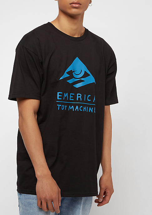 Emerica Toy Machine Short Sleeve black