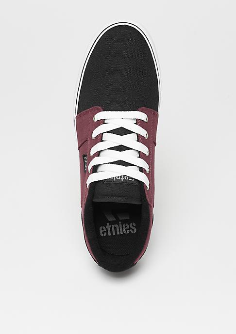 Etnies Barge LS black/white/burgundy