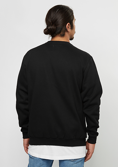 FairPlay Sweatshirt Basic Crew 08 black