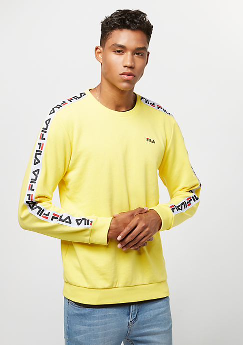 Fila Urban Line Sweat Crew Aren vibrant yellow