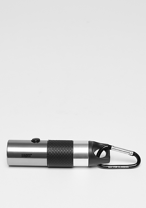 SNIPES Flashlight black/silver