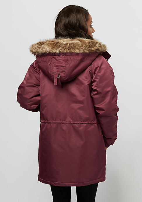 Flatbush Polar Parka bordeaux