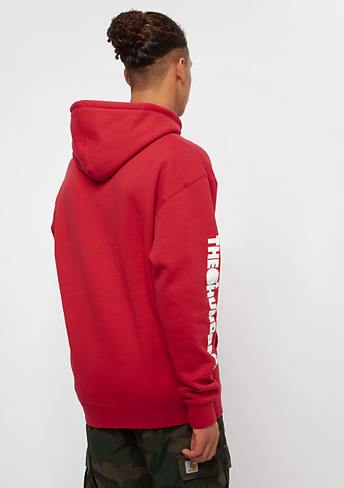 The Hundreds Forever Solid Bomb Crest red