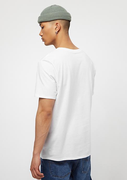 NIKE Core Embrd Futura white/white/black