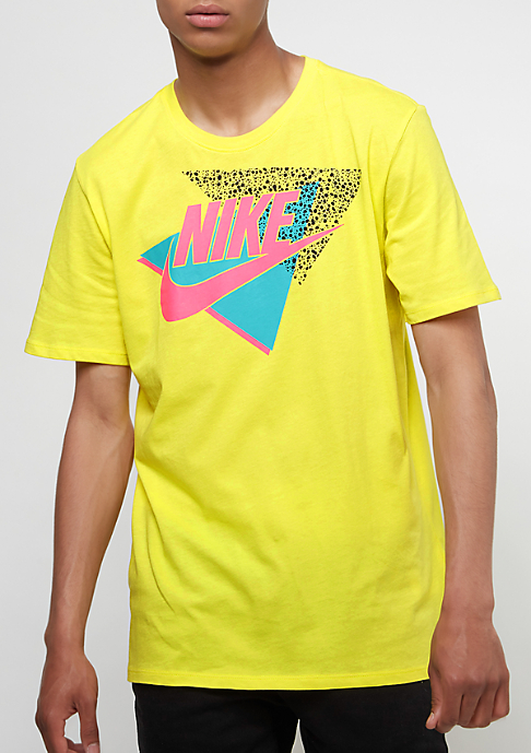 NIKE GFX Logo dynamic yellow/hyper pink