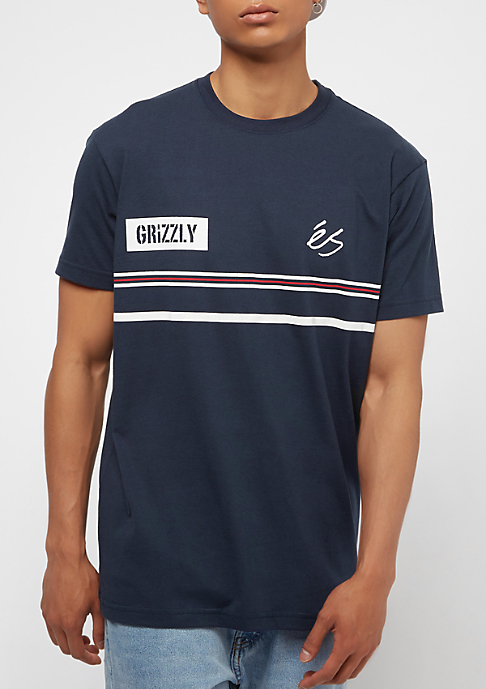 eS x Grizzly T-Shirt Game blue