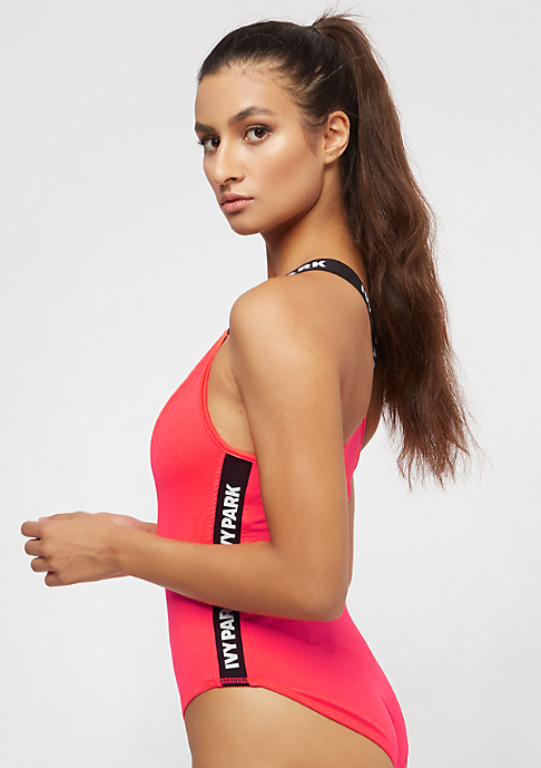 IVY PARK Logo Tape Side Body neon red