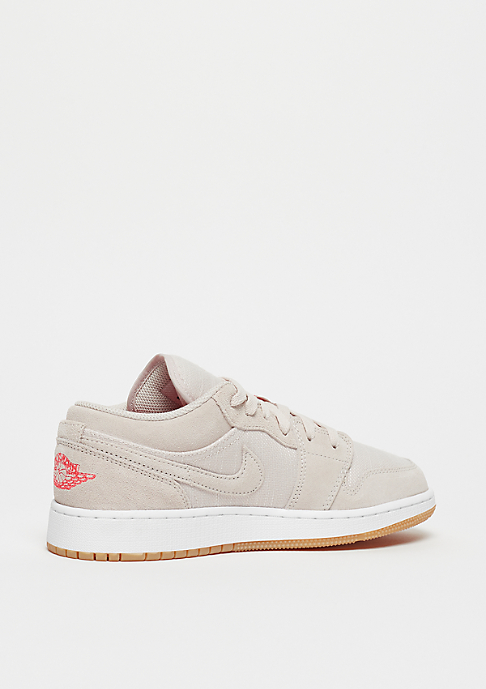 JORDAN Air Jordan 1 Low (BG) desert sand/white-gum yellow-infrared 23