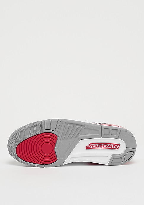 JORDAN Air Jordan 3 Retro Katrina white/fire red/cement grey