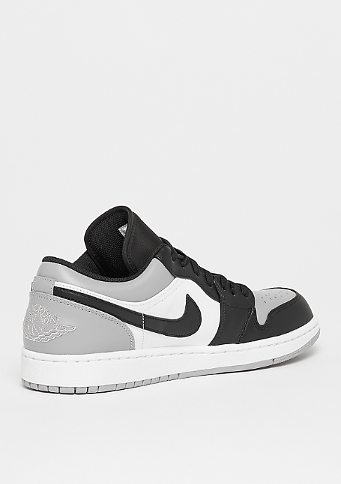 NIKE Air Jordan 1 Low white/atmosphere grey-black