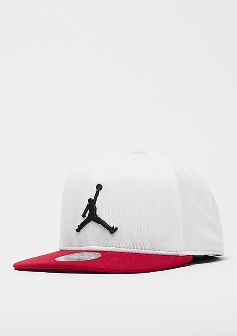 JORDAN Jumpman Snap white/gym red/black