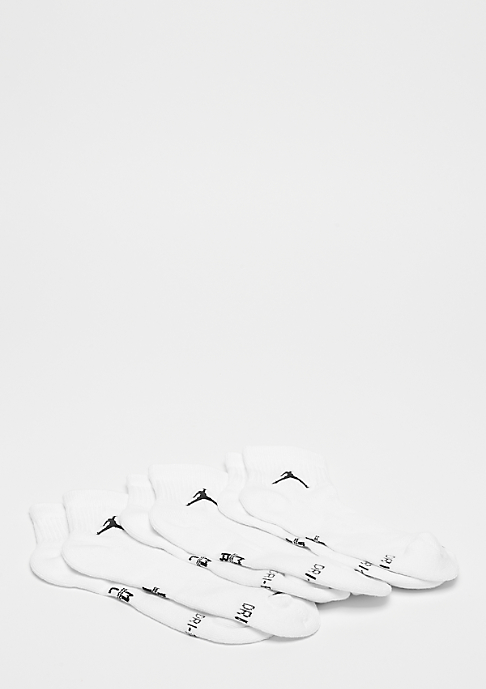 JORDAN Unisex Jumpman High-Intensity Quarter 3 Pair white/white