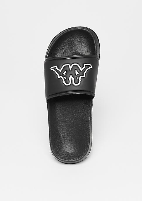 Kappa Kappa x Snipes Slide black/white