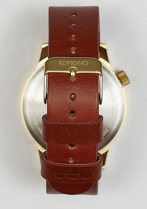 Komono Uhr Winston Regal chestnut