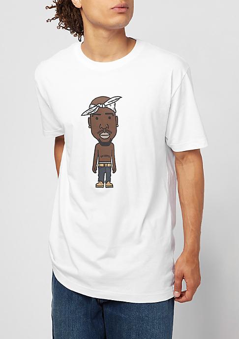 Mister Tee LA Sketch white