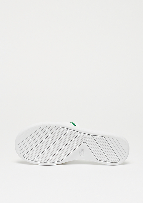 Lacoste L.30 SLIDE 218 1 CAW white/green