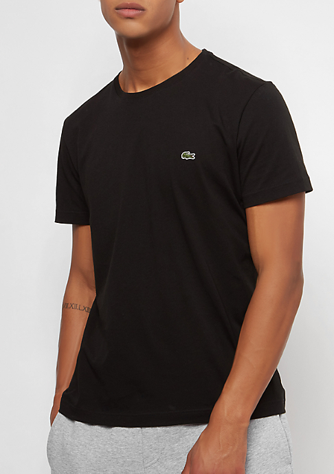 Lacoste Short Sleeved Crew Neck black