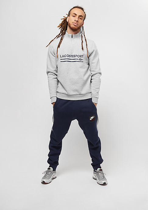 Lacoste Sweatshirt silver chine/navy blue