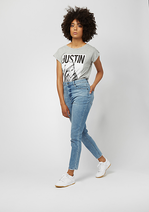 MERCHCODE Justin Bieber heather grey