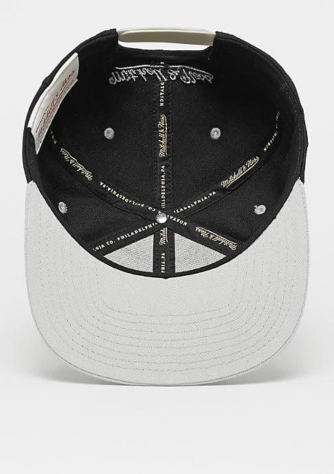 Mitchell & Ness Snapback-Cap Box Logo black/grey
