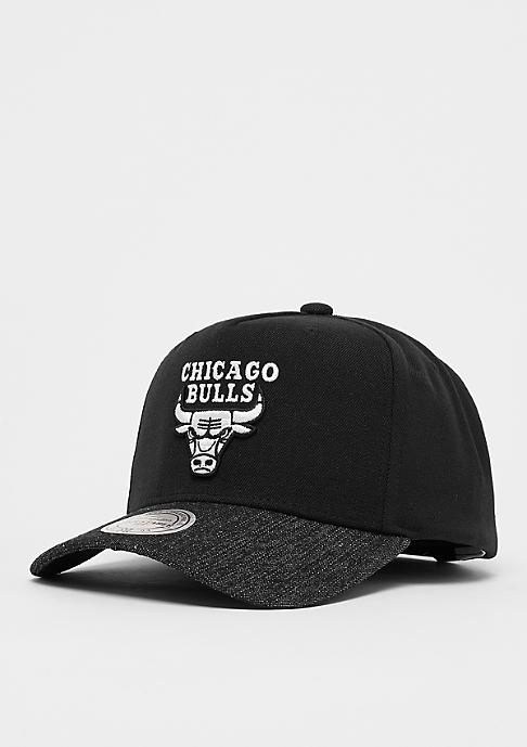Mitchell & Ness Denim Visor NBA Chicago Bulls black/black
