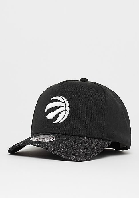 Mitchell & Ness Denim Visor NBA Toronto Raptors black/black