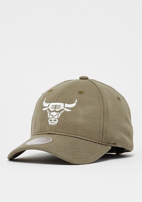 Mitchell & Ness Melange Jersey Chicago Bulls olive