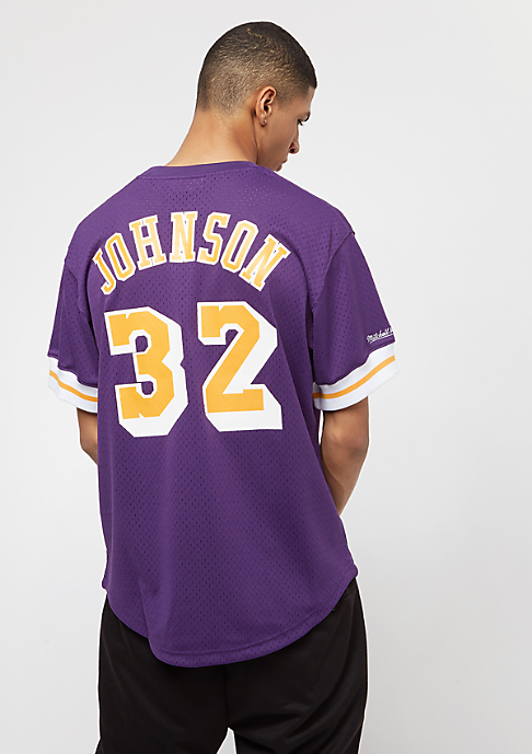 Mitchell & Ness NBA LA Lakers Magic Johnson purple/yellow