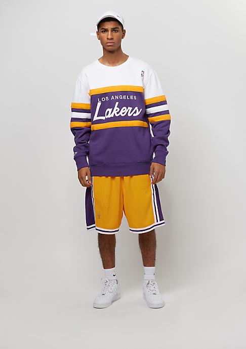 Mitchell & Ness Los Angeles Lakers Swingman Shorts yellow