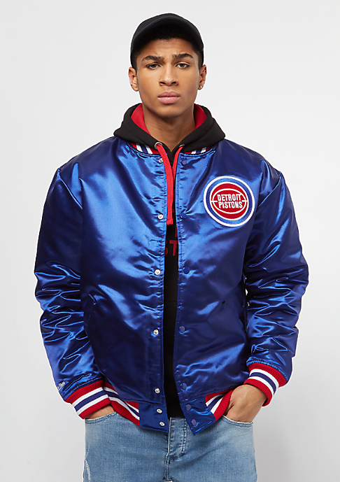 Mitchell & Ness NBA Satin Detroit Pistons royal