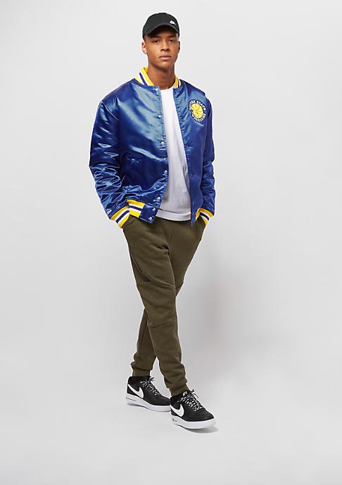 Mitchell & Ness NBA Satin Golden State Warriors royal