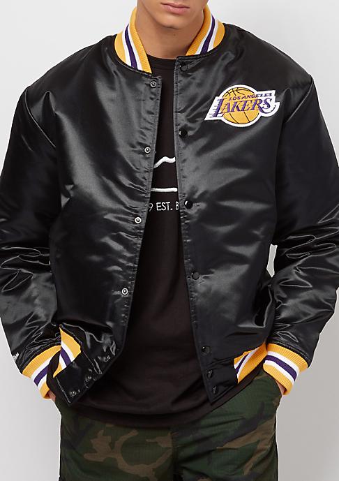 Mitchell & Ness NBA Satin LA Lakers black