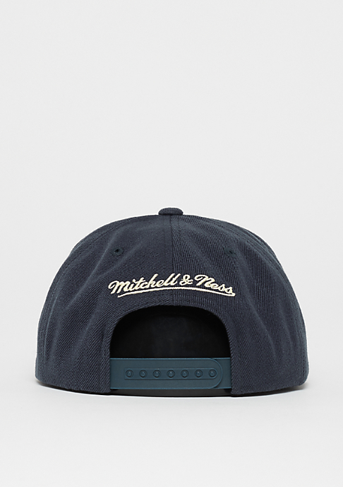 Mitchell & Ness OB Box Logo Raised Perimeter navy