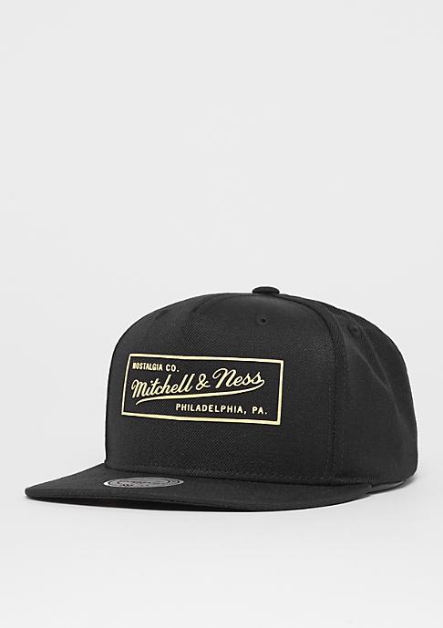 Mitchell & Ness OB Box Logo Raised Perimeter black