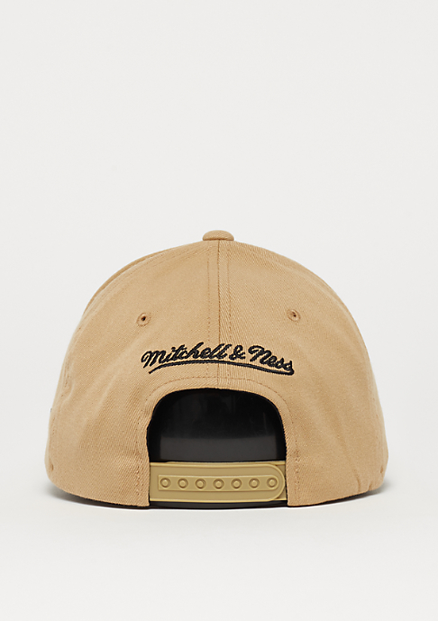 Mitchell & Ness OB Visor Stricker The Sand & Black 2-Tone Logo 110 sand