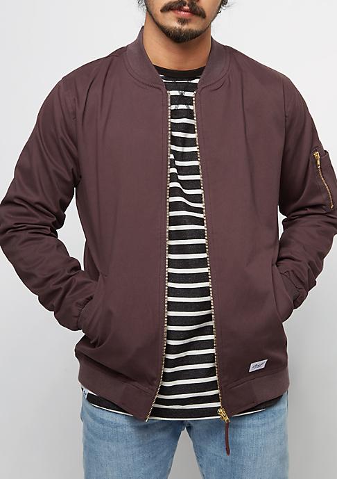 Reell Übergangsjacke NA-1 Jacket aubergine