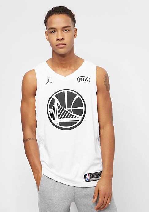 JORDAN NBA All Star Weekend Golden State Warriors Stephen Curry Swingman White