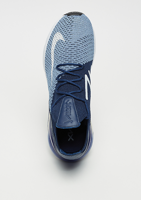 NIKE Air Max 270 Flyknit work blue/white/brave blue