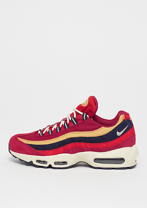low priced 092f4 7f806 ... new style nike air max 95 premium red crush provence purple wheat gold  09f47 17265