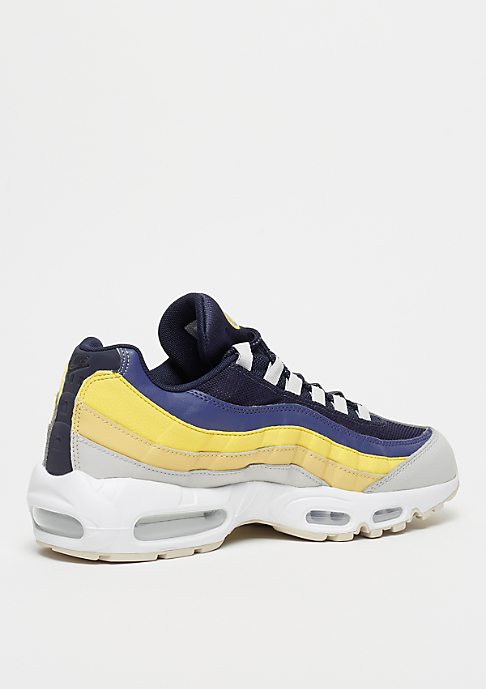 NIKE Air Max 95 white/vast grey/lemon wash/tour yellow