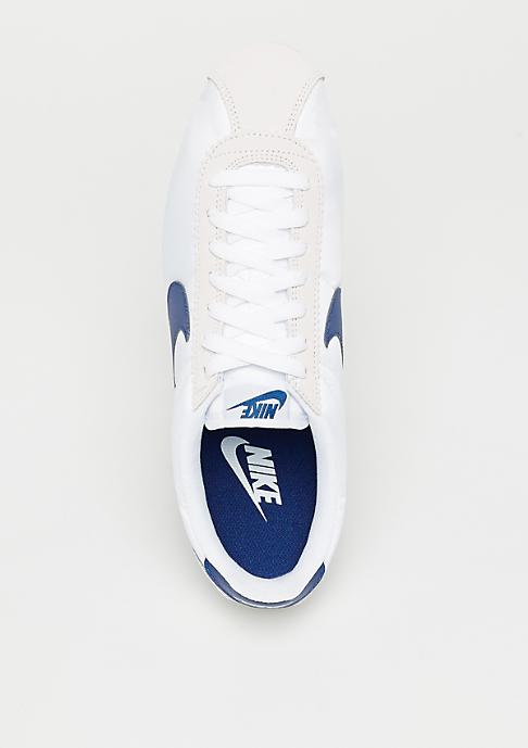 NIKE Classic Cortez Nylon white/gym blue